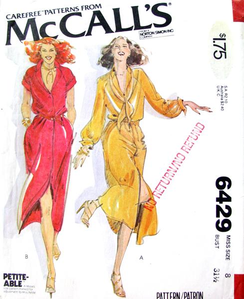 McCall's 6429