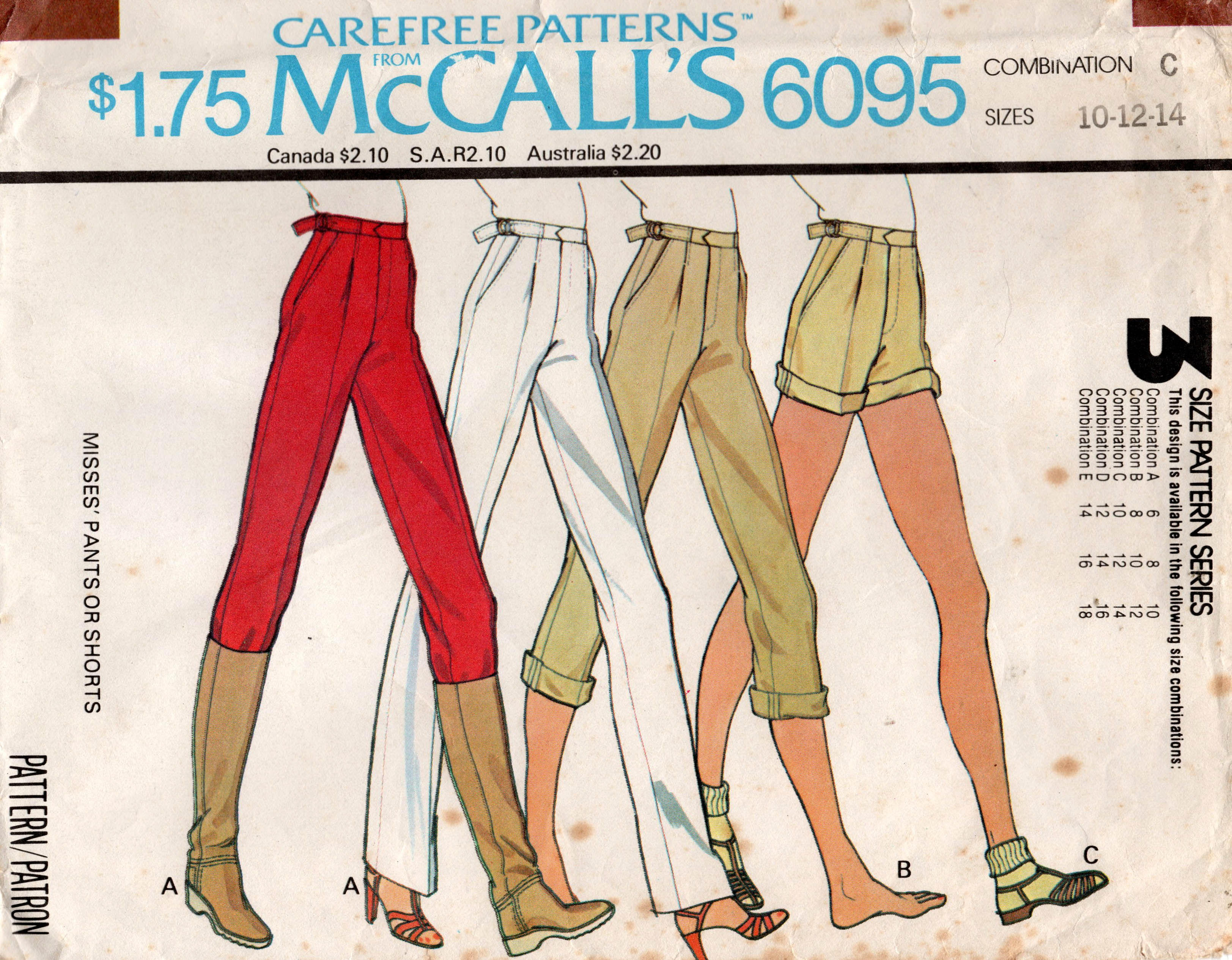 McCall's 6095 A