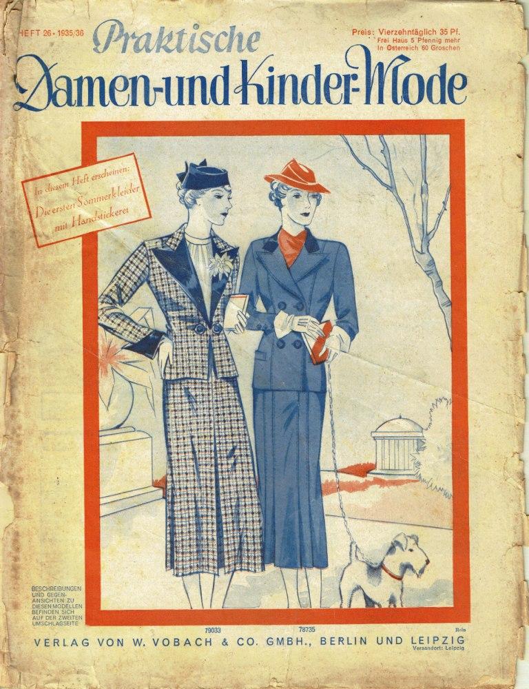 Praktische Damen- und Kinder-Mode No. 26 1935-36