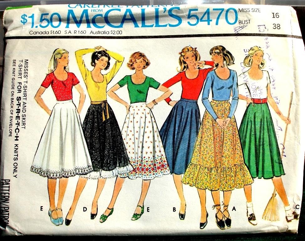 McCall's 5470 A