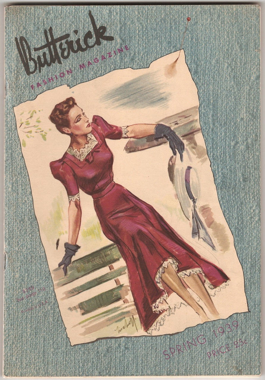 Butterick Fashion Magazine Spring 1939