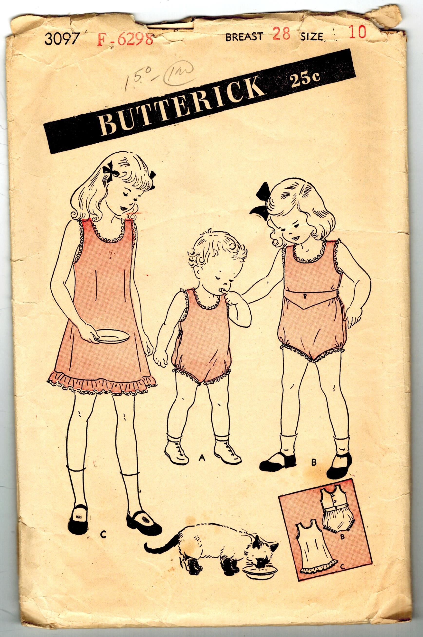 Butterick 3097 B