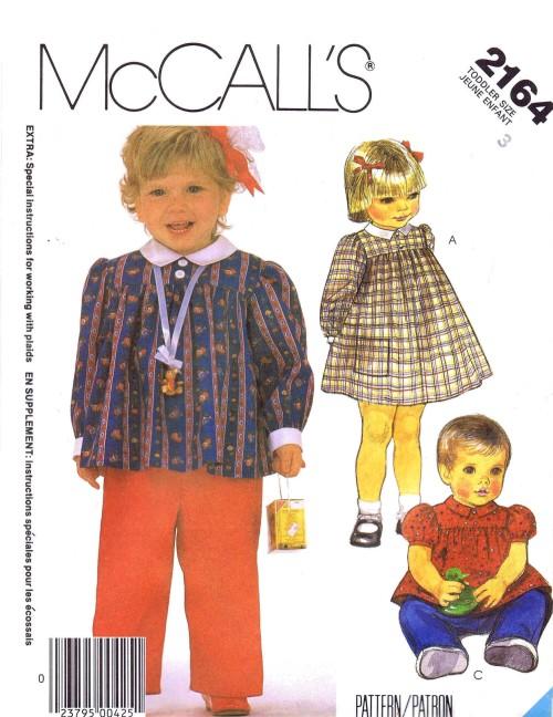 McCall's 2164 A
