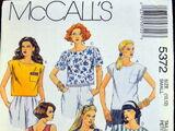 McCall's 5372 B