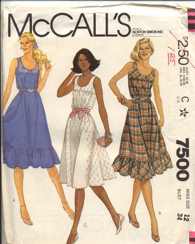 McCall's 7500