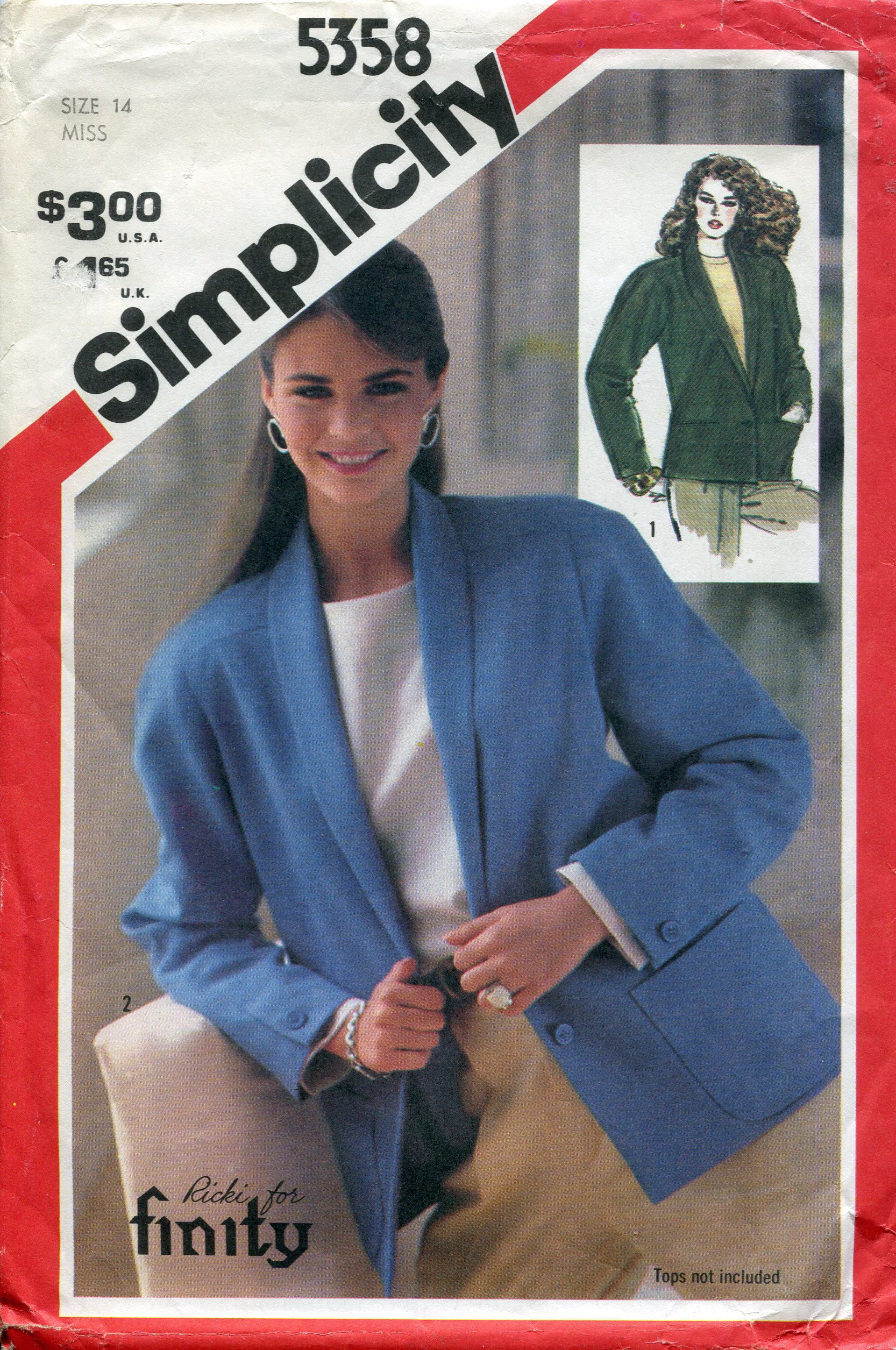 Simplicity 5358 B
