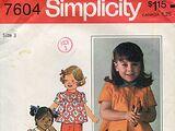 Simplicity 7604 A