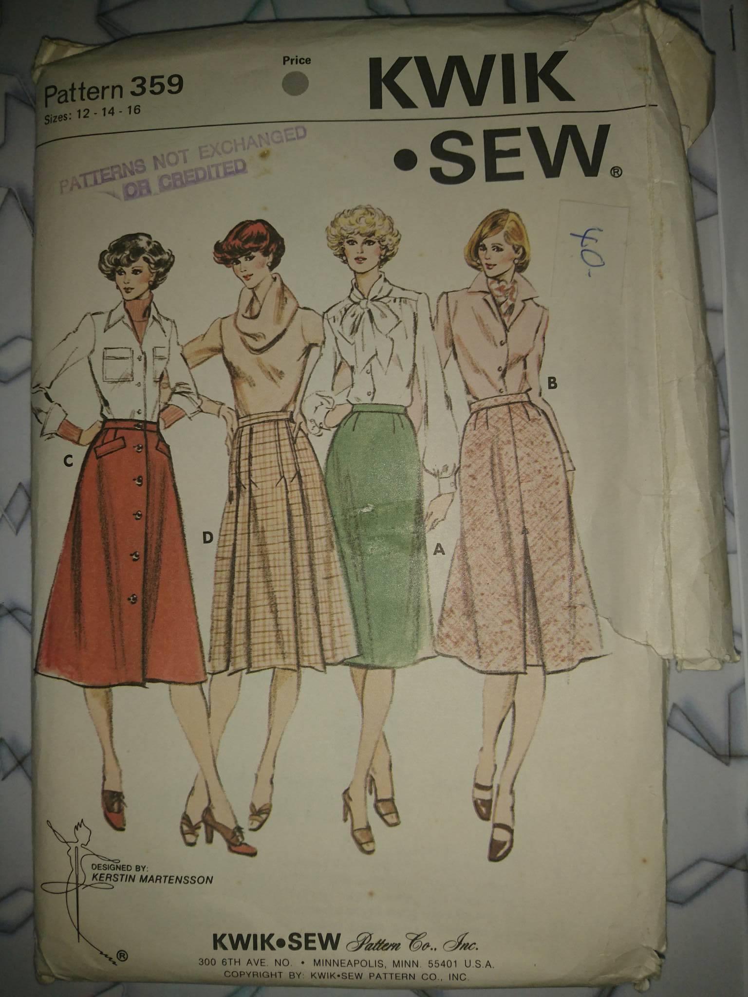 Kwik Sew 359