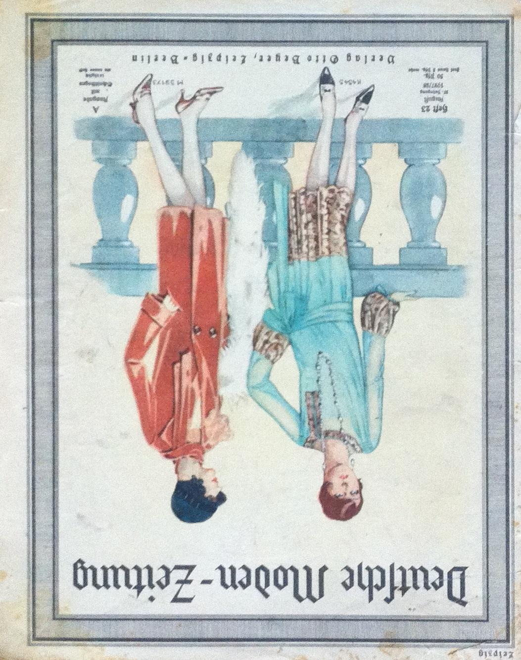 Deutsche Moden-Zeitung No. 23 Vol. 37 1927/28
