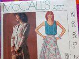 McCall's 2377 B
