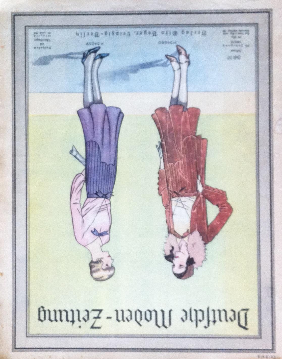 Deutsche Moden-Zeitung No. 10 Vol. 39 1929/30
