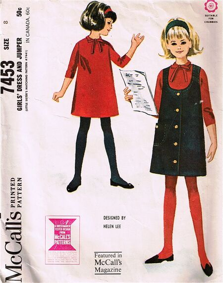 McCall's 7453, copyright 1964.
