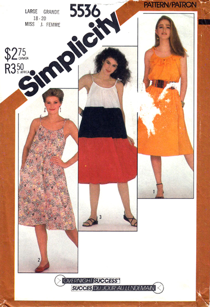 Simplicity 5536 B