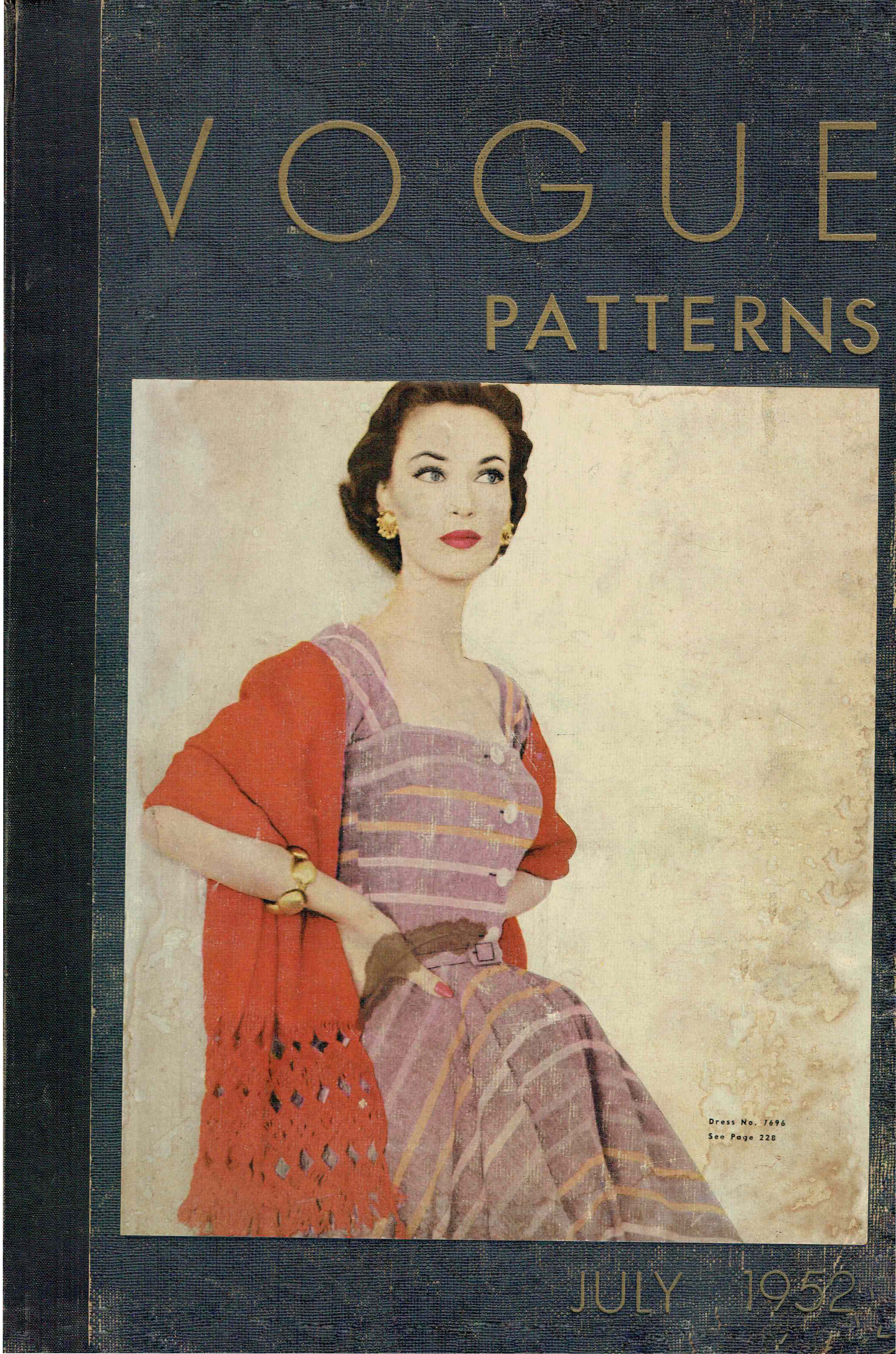 Vogue Patterns Counter Catalog July 1952