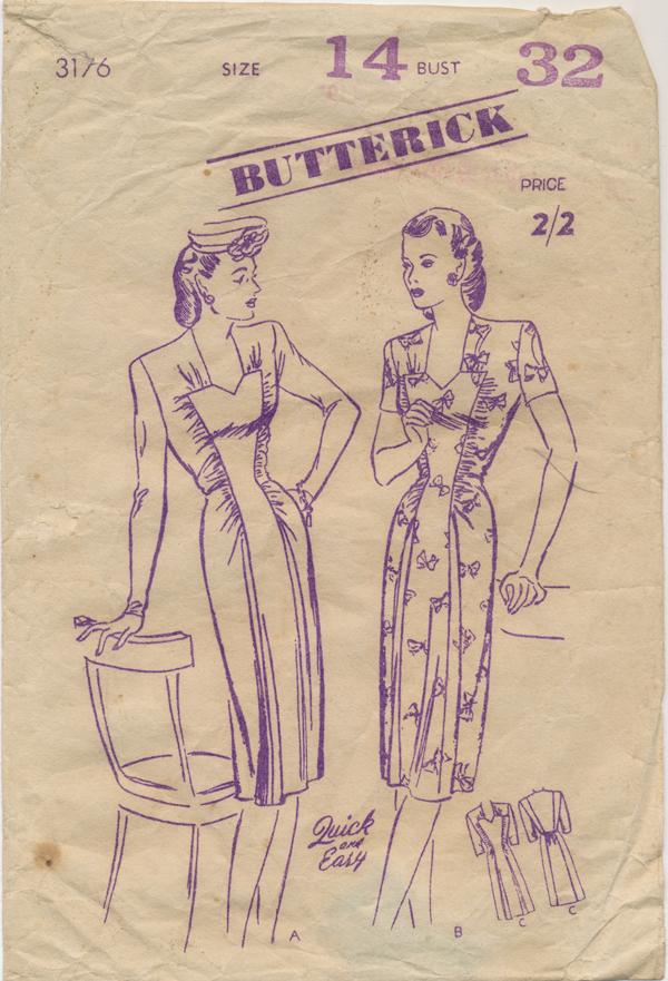 Butterick 3176 B