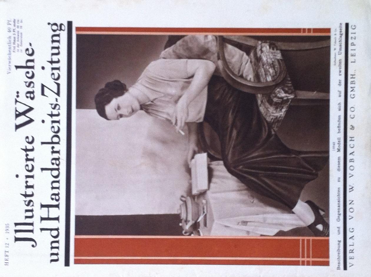 Illustrierte Wäsche- und Handarbeits-Zeitung No. 12 1935