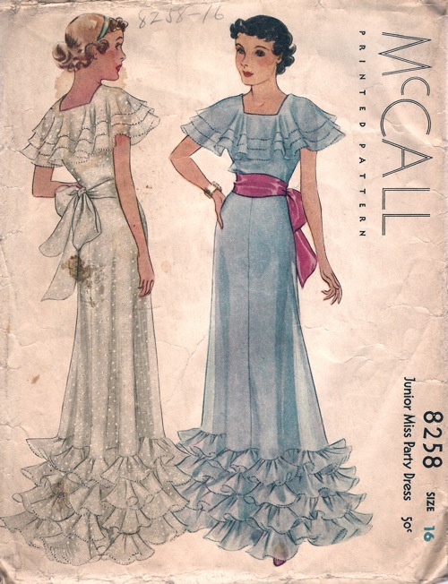 McCall 8258 A