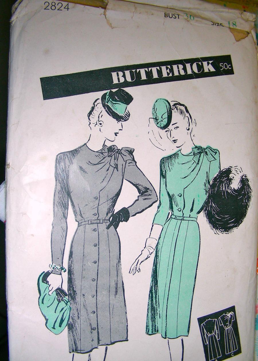 Butterick 2824 A