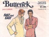 Butterick 3625 A