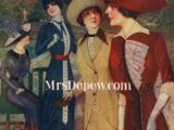 Pictorial Review Fashion Book Fall 1912