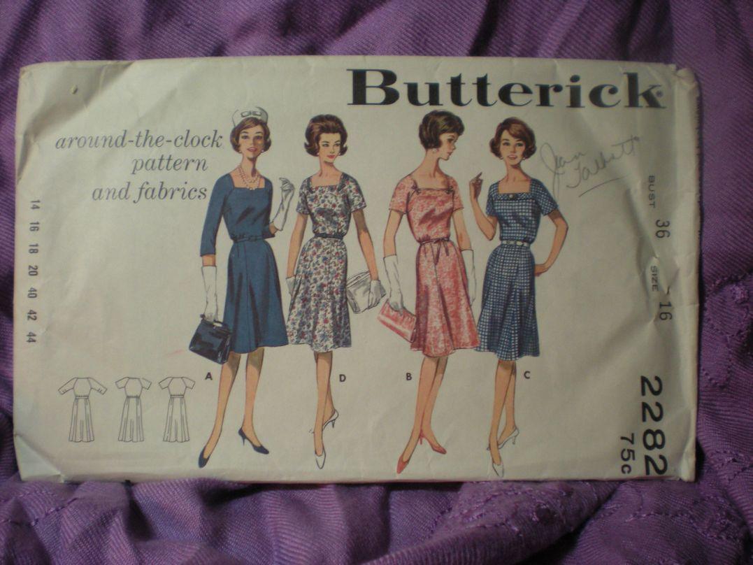Butterick 2282