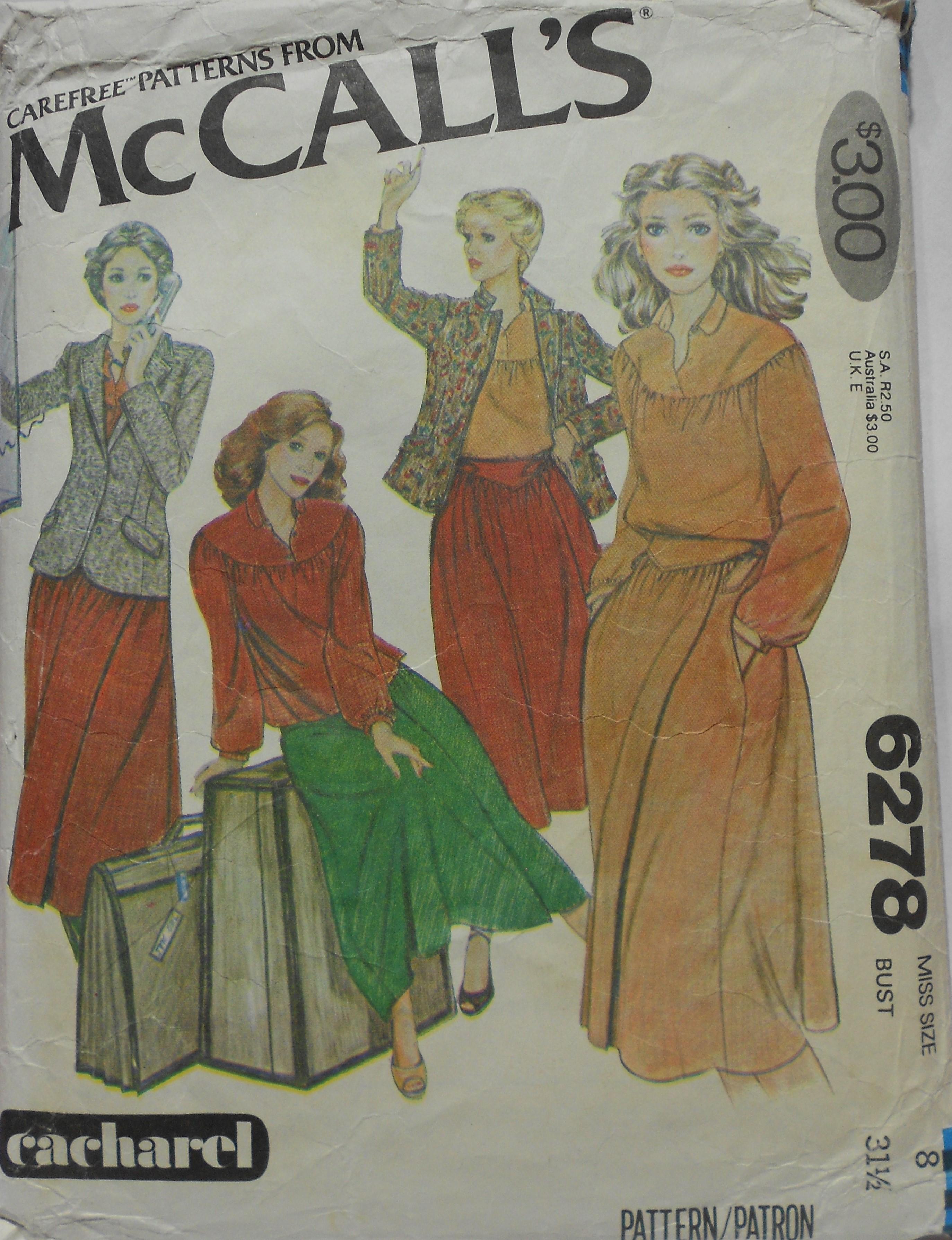 McCall's 6278 B