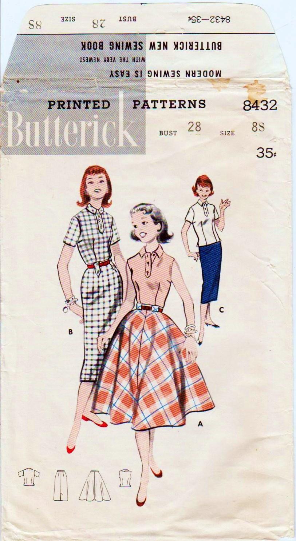 Butterick 8432