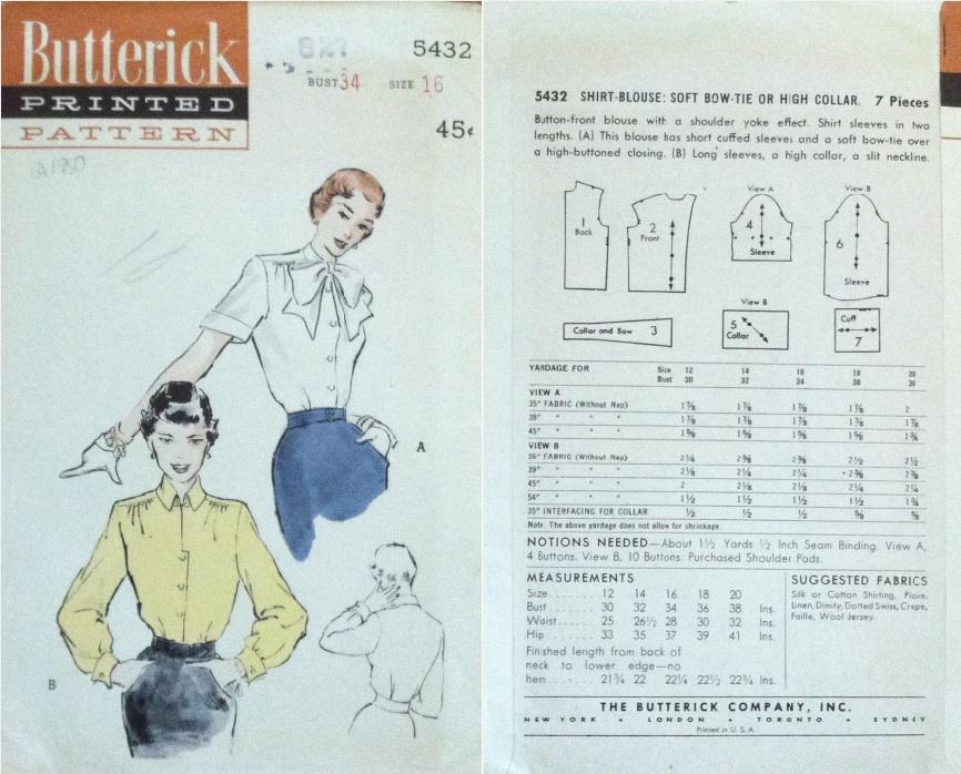 Butterick 5432 C