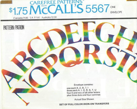 McCall's 5567 A