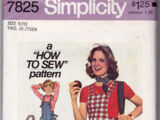 Simplicity 7825 A