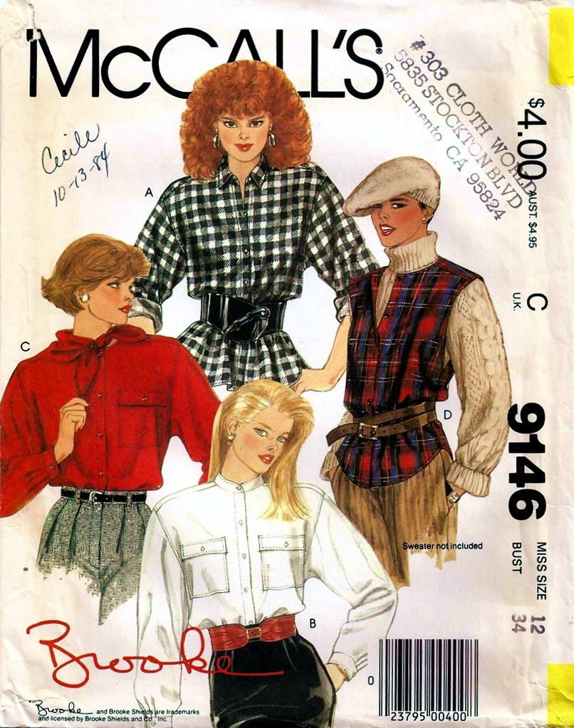 McCall's 9146 A