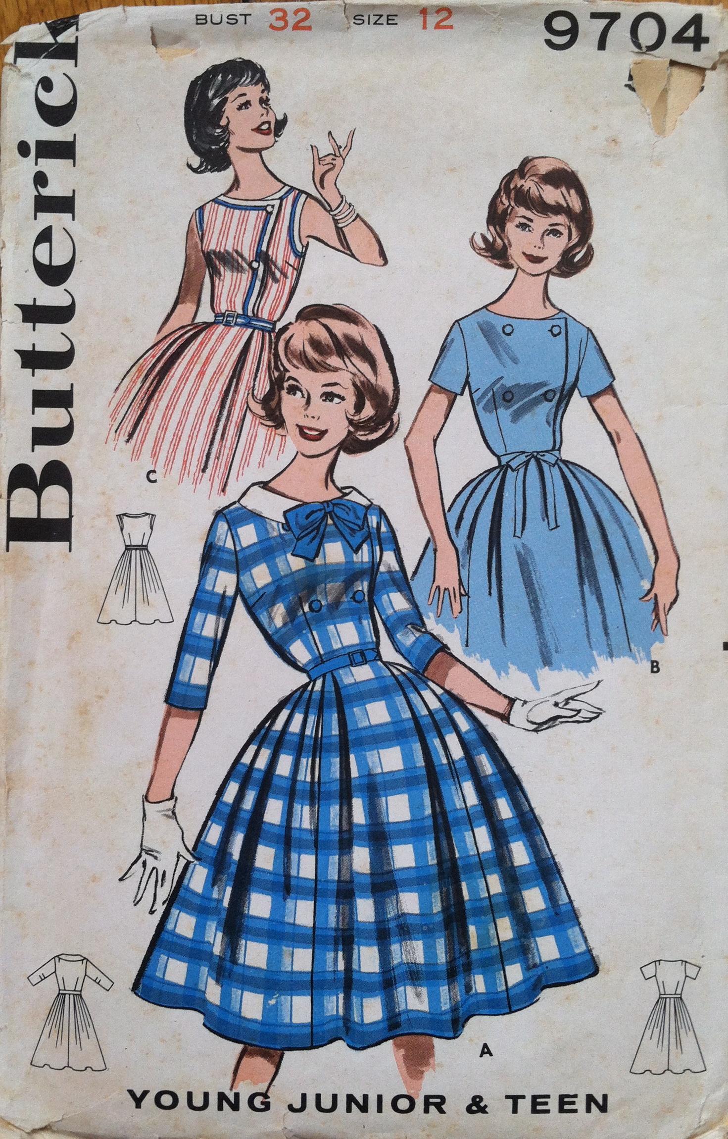 Butterick 9704