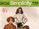 Simplicity 9634 B