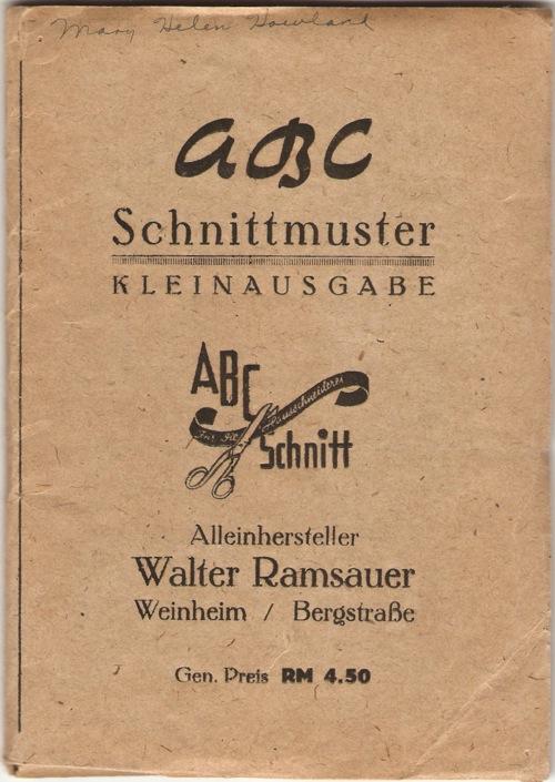 ABC Schnitt 1 to 25