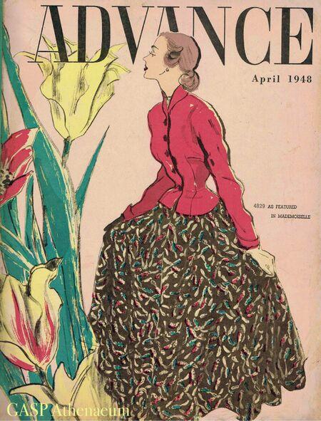 Advance Pattern April 1948