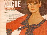 Vogue Pattern Book April/May 1965