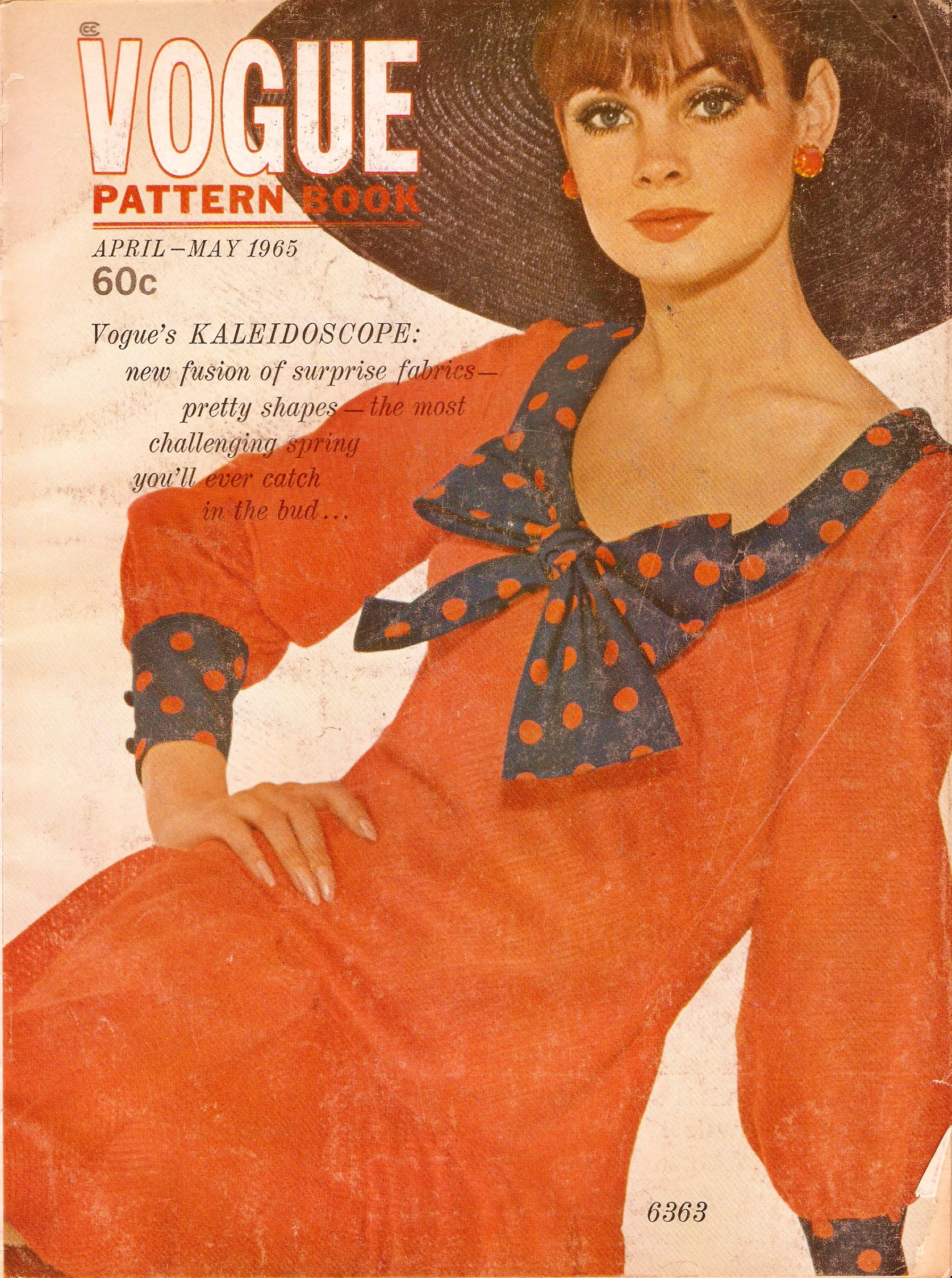 Vogue Pattern Book April/May 1965