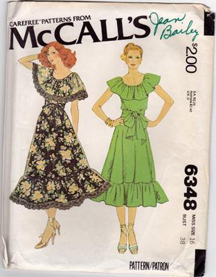 McCall's 6348 A