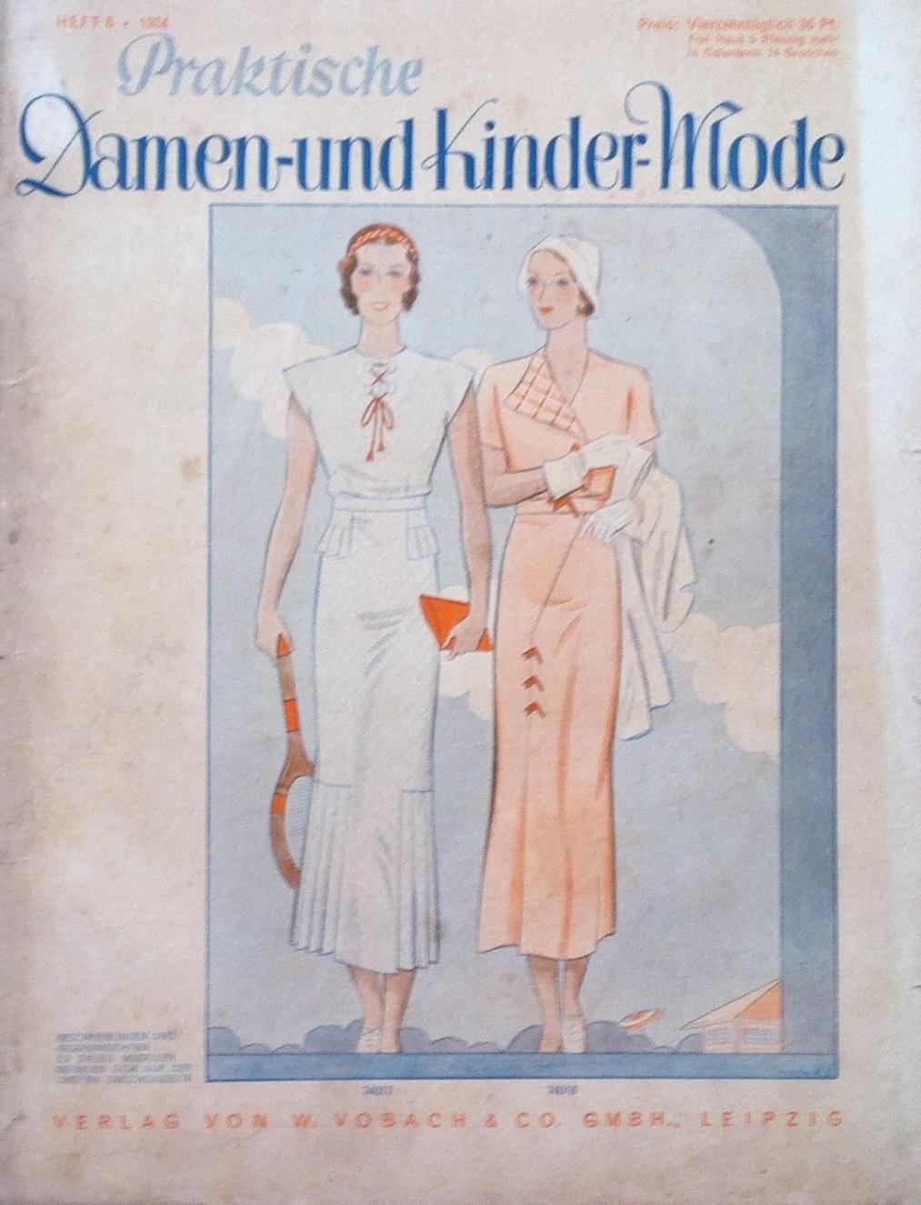 Praktische Damen- und Kinder-Mode No. 6 1934