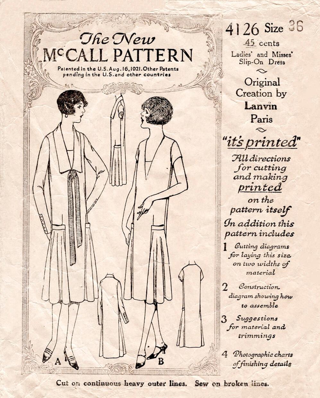 McCall 4126 A