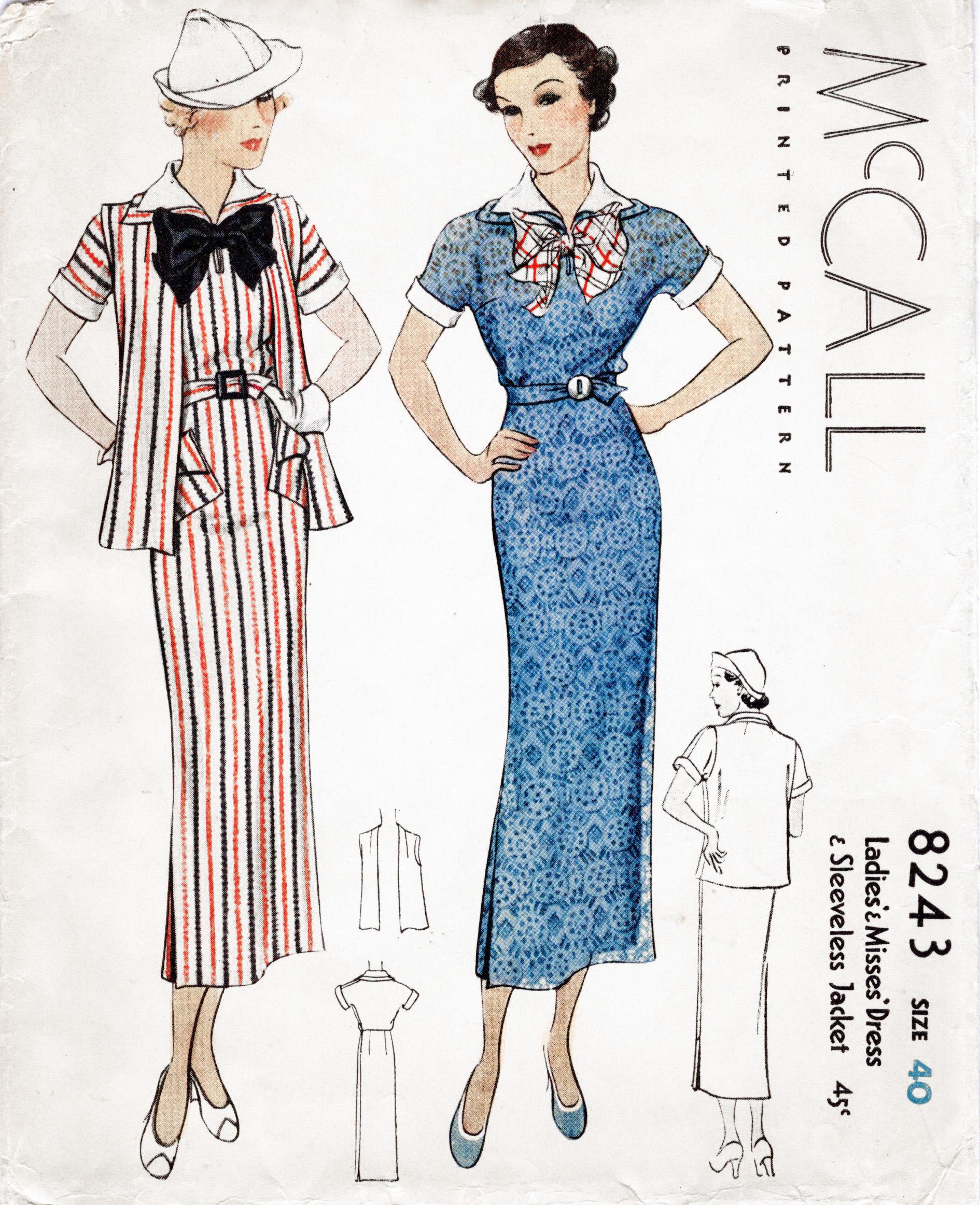 McCall 8243