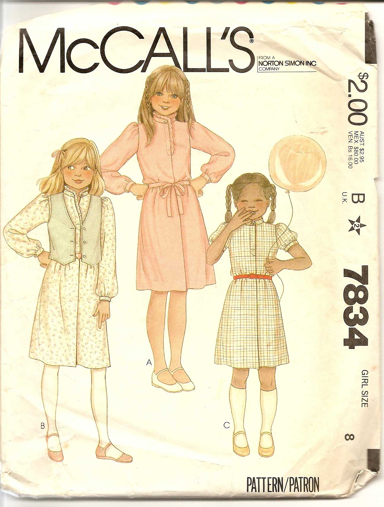 McCall's 7834
