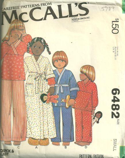 McCall's 6482