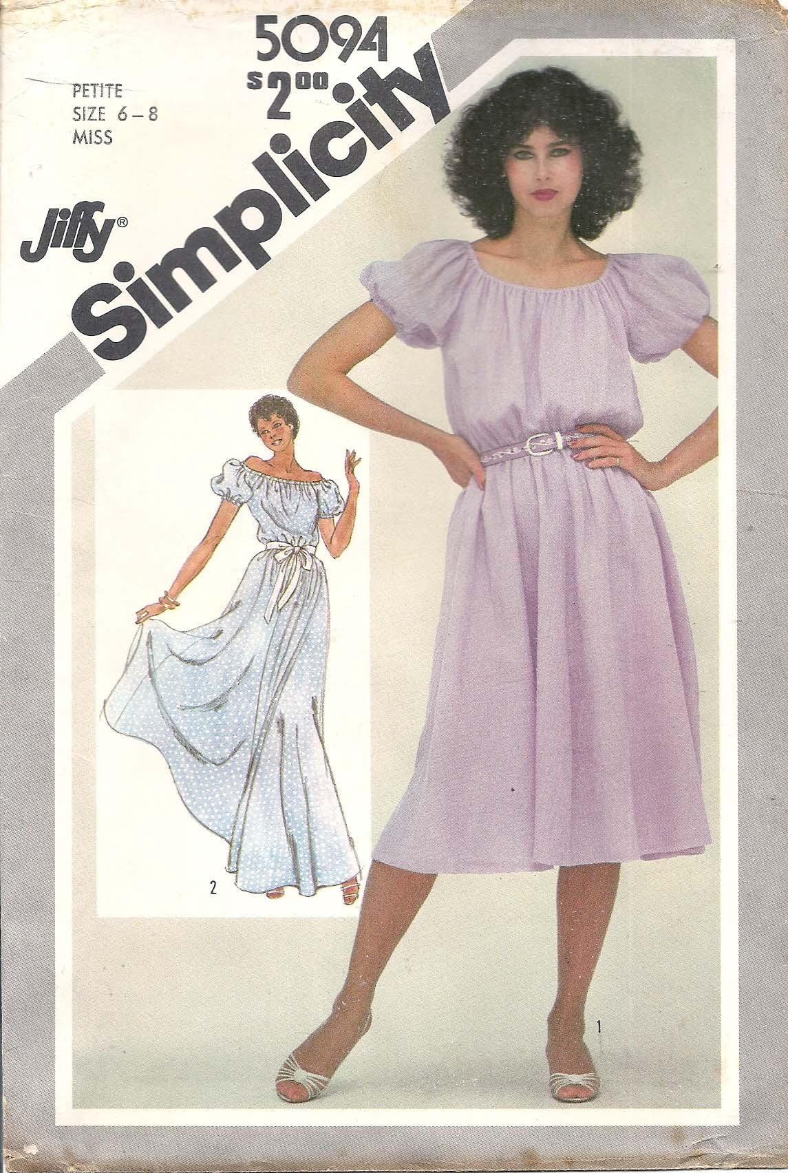 Simplicity 5094 A