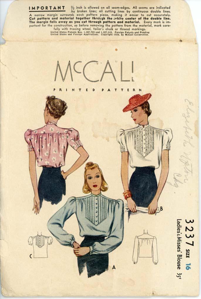 McCall 3237