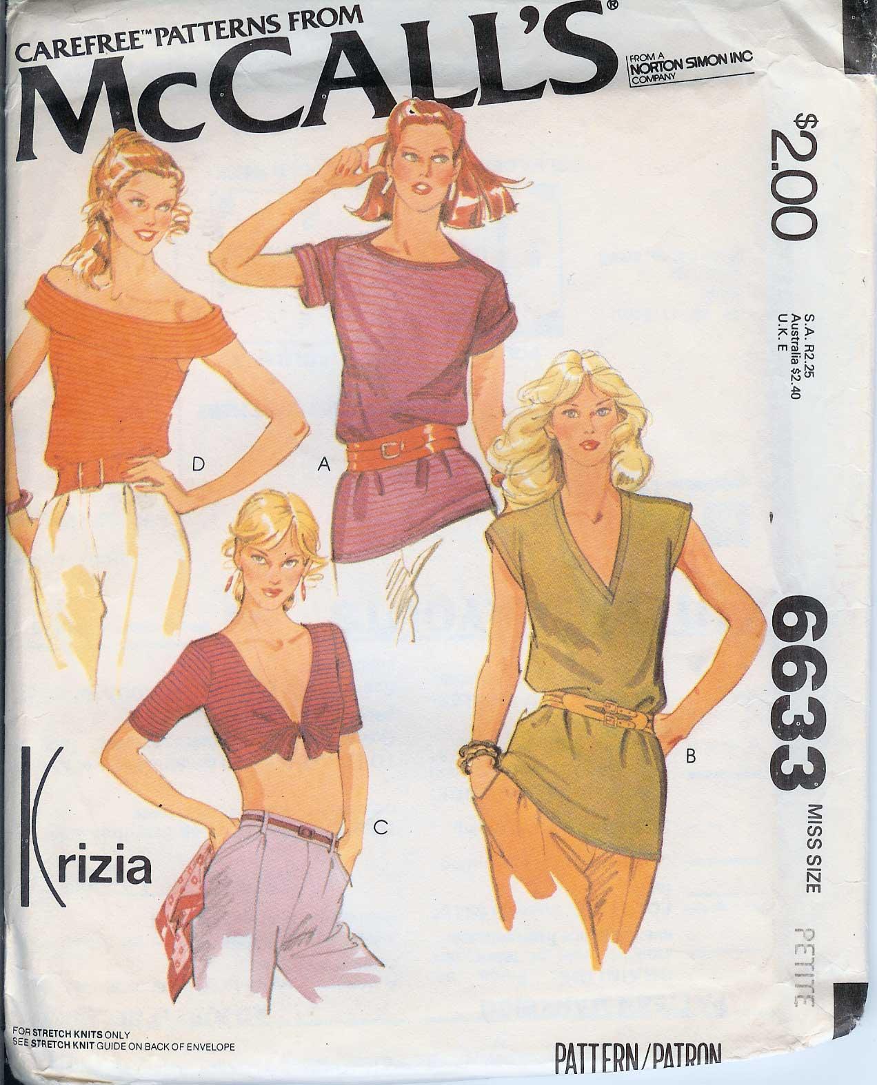 McCall's 6633