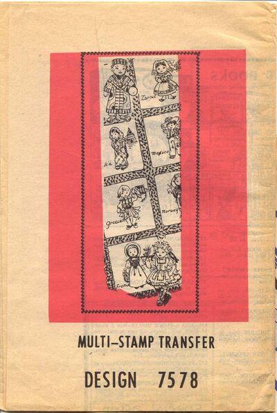 Alice Brooks 7578 Multi-Stamp Transfer