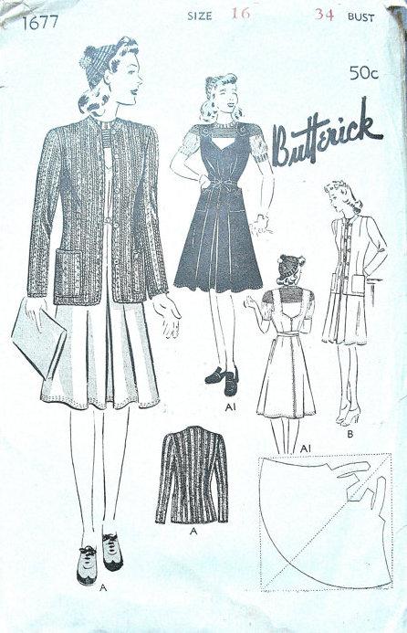 Butterick 1677
