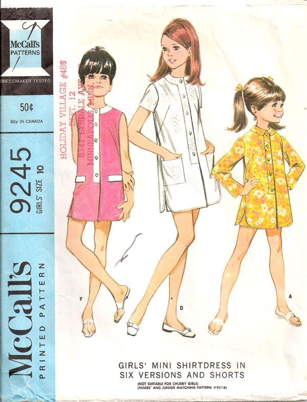 McCall's 9245 A