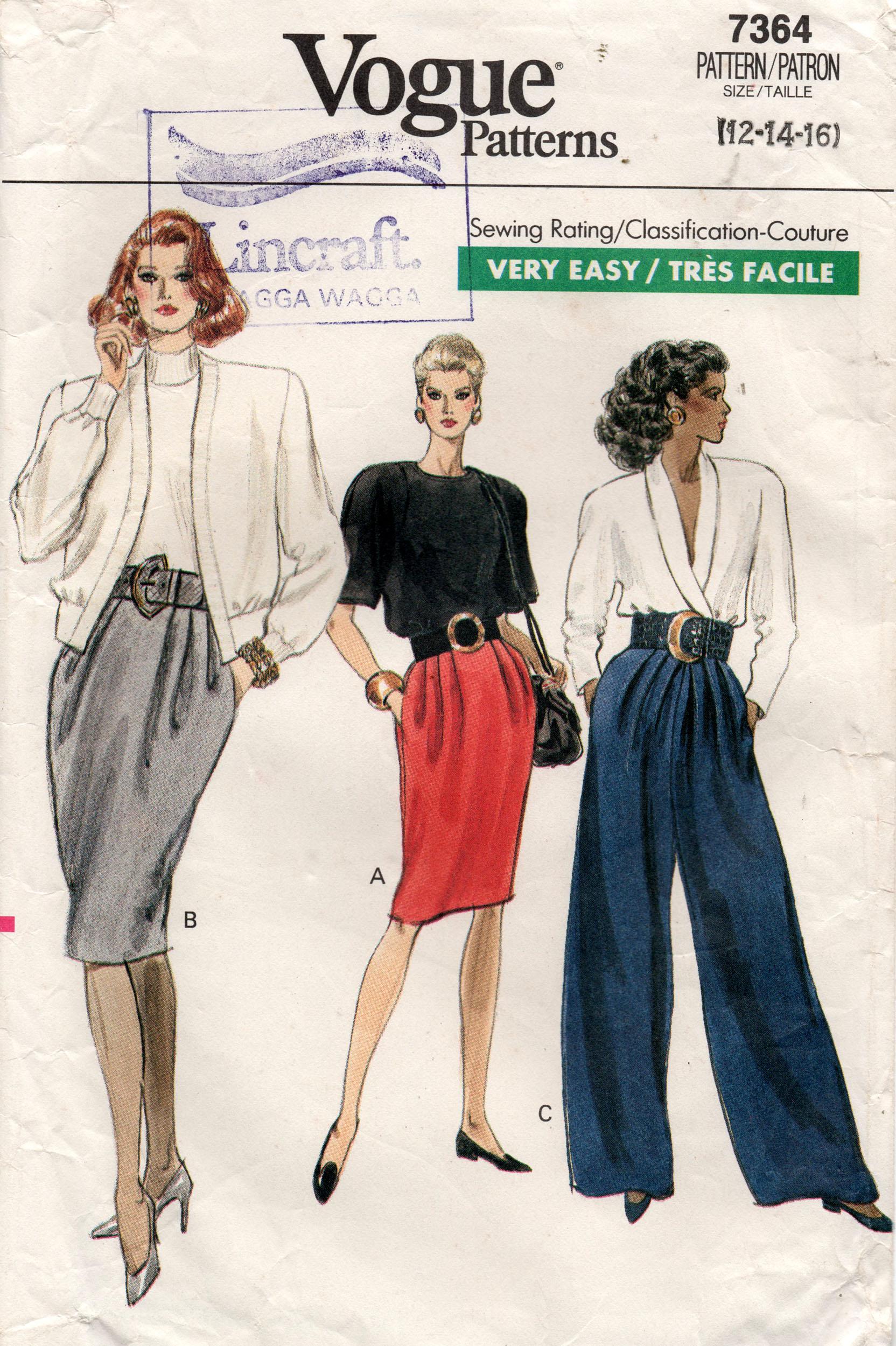 Vogue 7364 C
